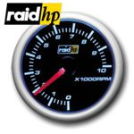 raid hp NIGHT FLIGHT BLUE - Drehzahlmesser - 2/3/4/5/6/8-Zylinder - Instrument