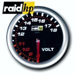 raid hp NIGHT FLIGHT - Voltmeter/Spannung/Bordspannung/Volt-Anzeige - Instrument