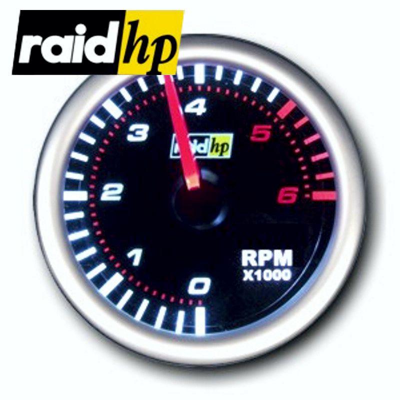 raid hp NIGHT FLIGHT - Drehzahlmesser 1-12 Zylinder Diesel+Benziner - Instrument
