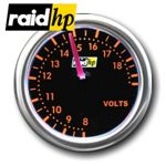 raid hp NIGHT FLIGHT RED - Voltmeter/Spannung/Volt-Anzeige - Instrument