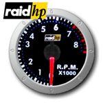 raid hp NIGHT FLIGHT CHRONO - Drehzahlmesser - 3/4/6-Zylinder - Instrument