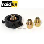 raid hp Ölfilter-Adapter-Flansch M18+M20+3/4-16UNF für Öldruck-/Öltemperatur