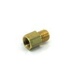 raid hp Gewinde-Adapter M10 x 1,0 für Öldruck-/Öltemperatur-Geber 1/8-27nptf