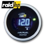 raid hp NIGHT FLIGHT DIGITAL BLUE - Benzin/Luftgemisch/Lambda-Anzeige-Instrument