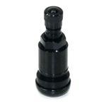 Metallventil 11,3 mm schwarz black 42MS SW11 Reifenventil Alu-Ventil PKW/LLKW
